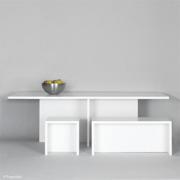Möbel aus Papierwerkstoffen