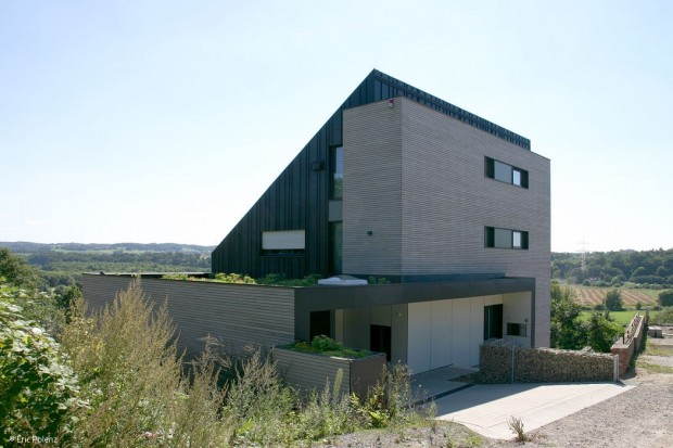Energiesparendes Designhaus
