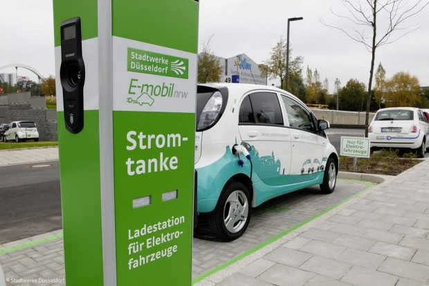 Düsseldorf elektrisiert