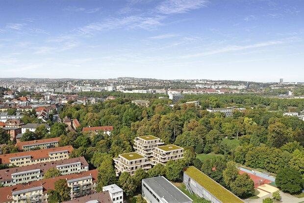 Oberhalb des Neckars