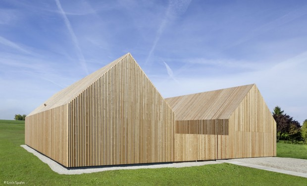 Bewohnbare Holzskulptur