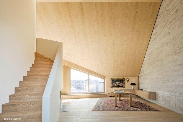 Gelungene Lösung aus Holz