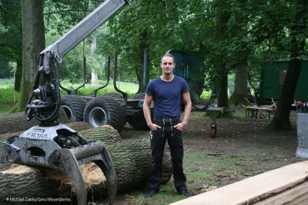 Begeisterung für Holz