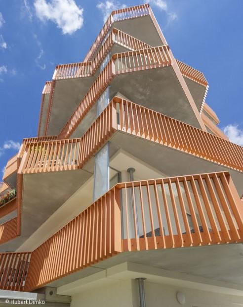 Ungewohntes Wohnungsmodell