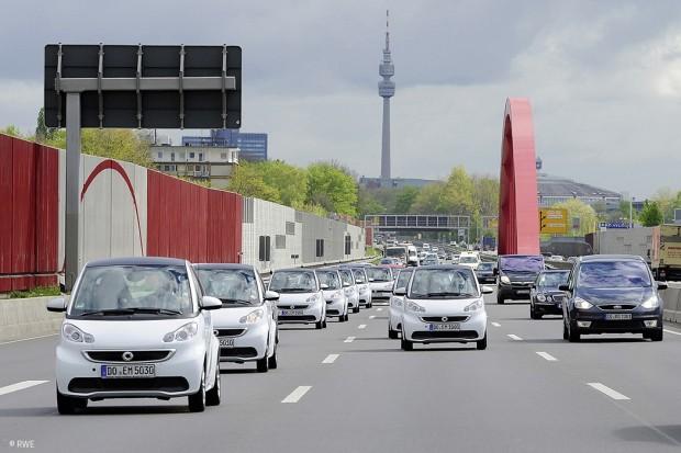 Elektrisch mobil im Ruhrgebiet