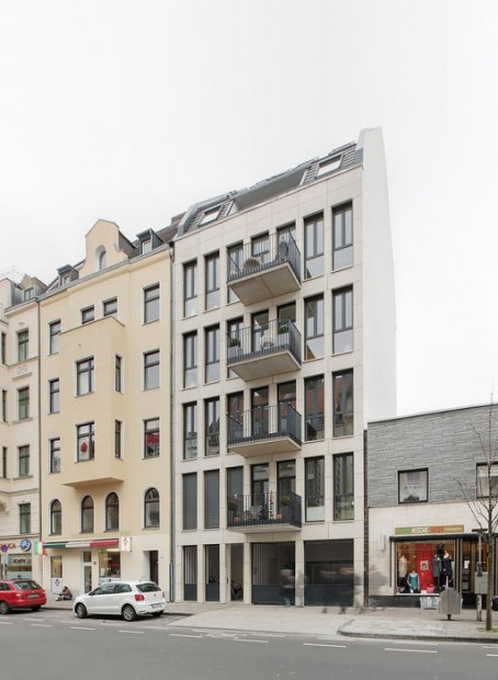 Stadthaus schließt Baulücke