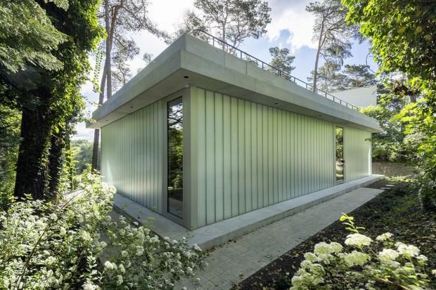 Glashaus am See