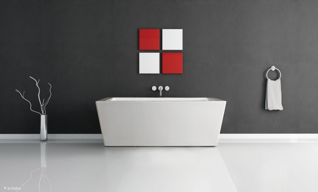 Aktuelle Farbgestaltung im Bad