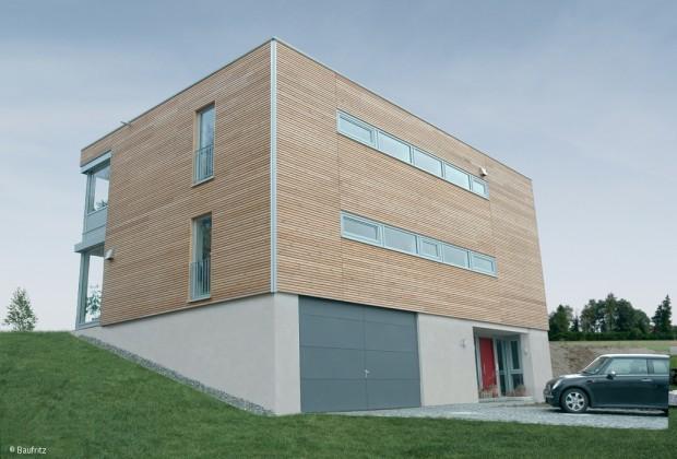 Panorama-Haus im Bauhausstil