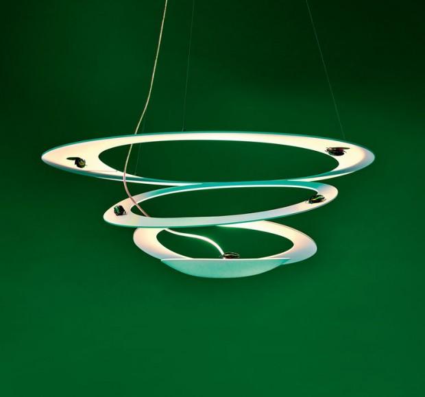Spiralförmig