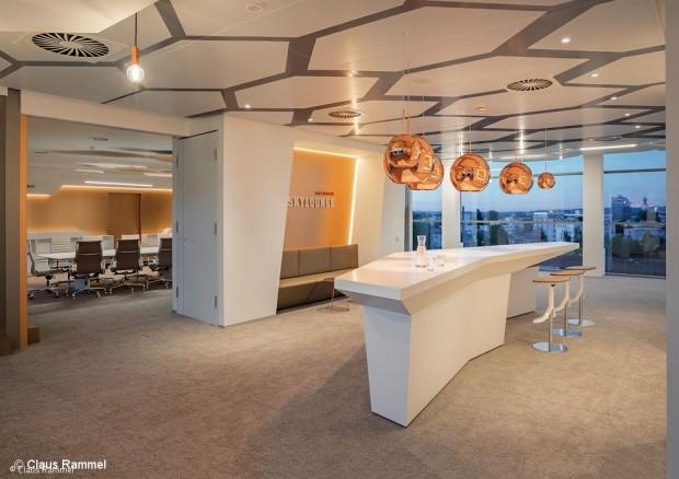 Montagehochhaus wird Firmenzentrale