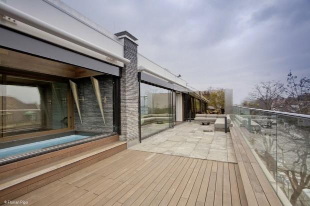 Luxus auf dem Dach