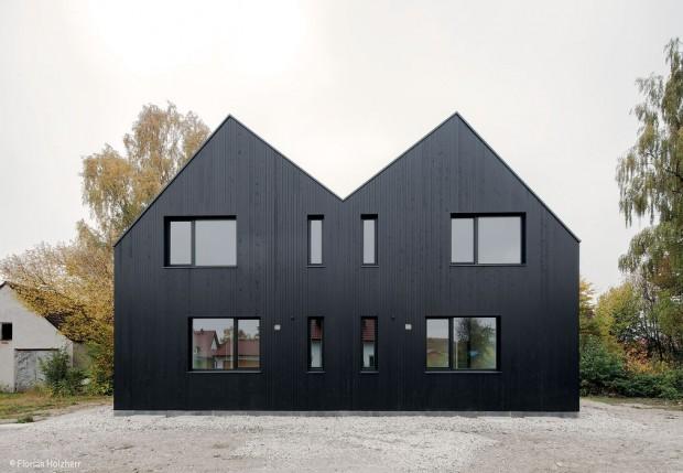 Spiel mit Grundriss und Dach