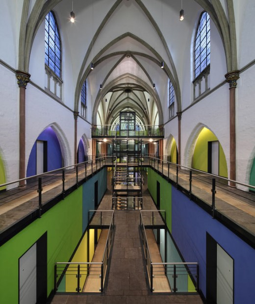 Wohnkirche mit Wow-Effekt