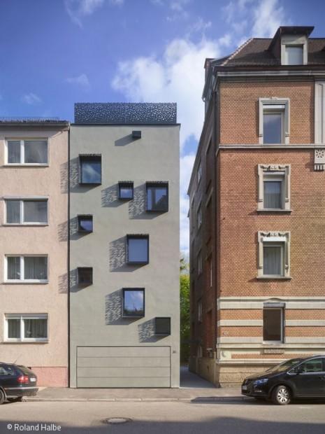Stadthausjuwel statt Baulücke