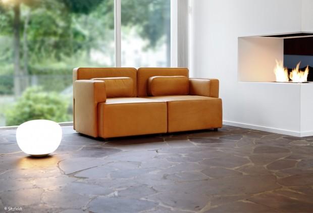 Ein Sofa, das sich dem Leben anpasst