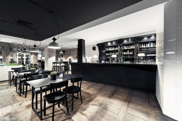 Tapas-Bar im Industrial Style