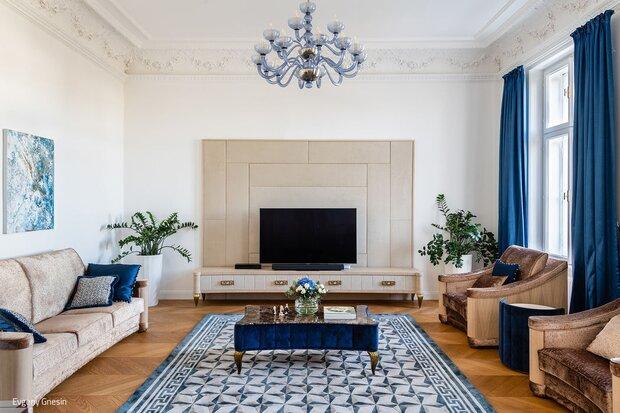 Stilvoller Blick auf die Hofburg