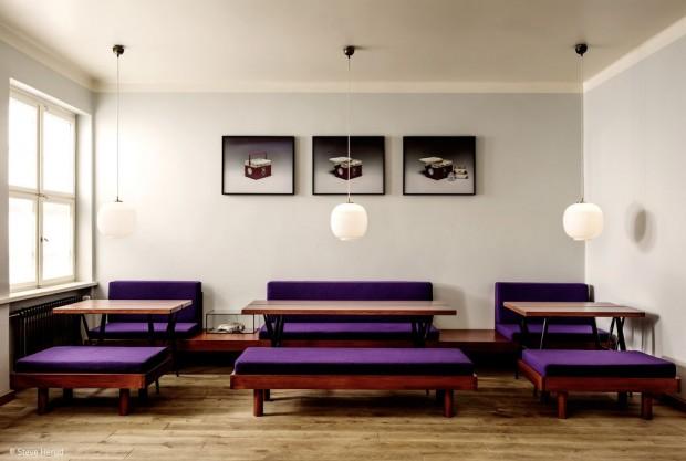 Amerikanisch Essen, finnisch Sitzen