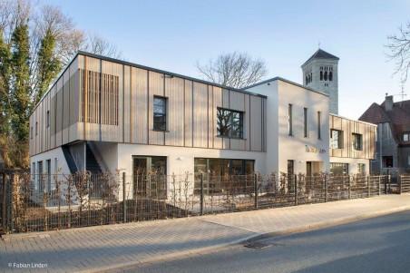 Kita-Neubau ergänzt Denkmal