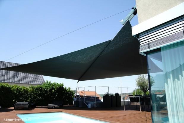 Schutz vor Sonne und Wind