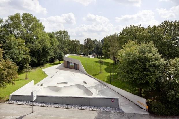 Kunstvoller Spielpark