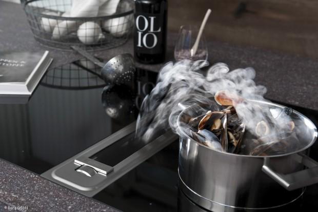 Neue Küchen-Lüftungstechnik