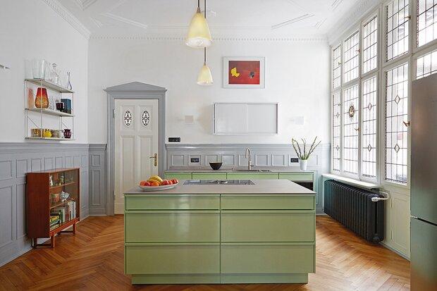 Die wunderbare Welt der Küchenfarben