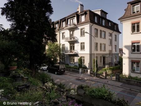Stadt-Wohnungen mit Garten