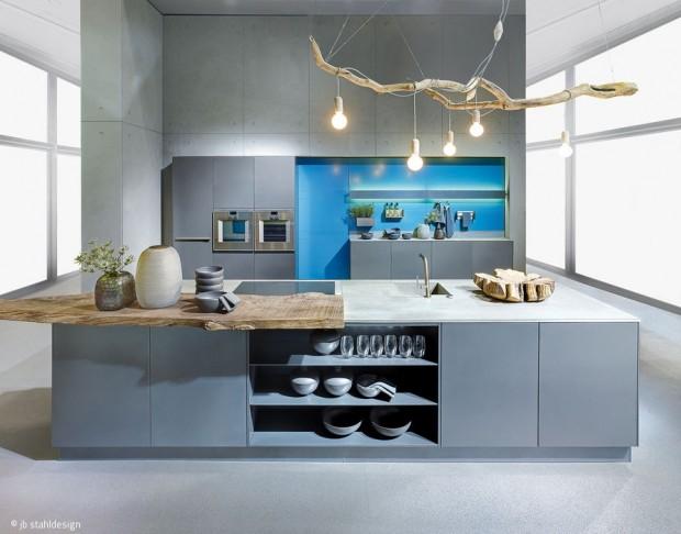 Stahlküchen mit schweizer Präzision