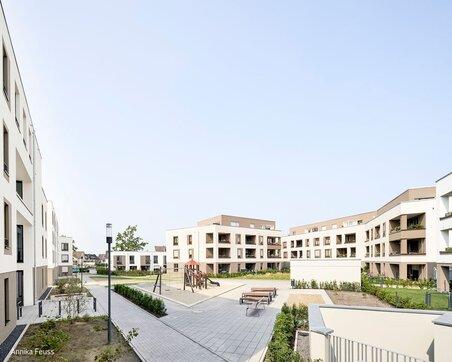 Mittelpunkt Quartiersplatz