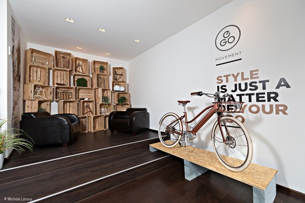 Stylishe E-Bikes