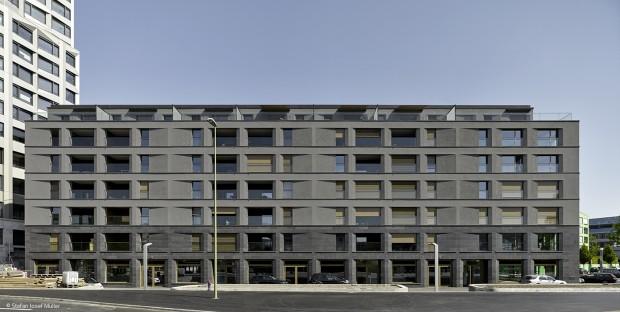 Markantes Fassadenrelief