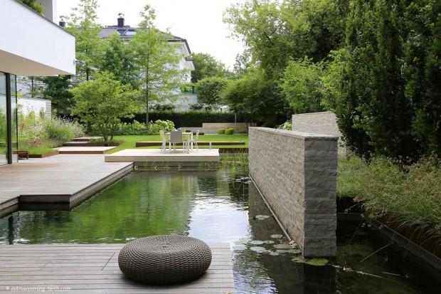 Schwimmteich oder Living Pool