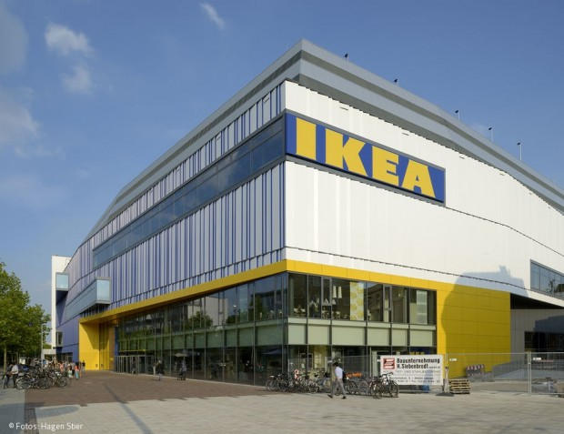 Erster IKEA CityStore