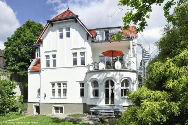 Villa mit Gesicht und Geschichte