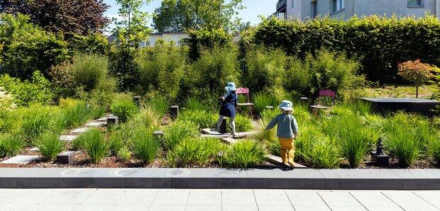 Kleiner Garten zeigt Größe
