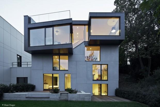 Ein Haus mit zwei Gesichtern