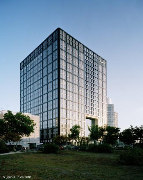 Ein Gebäude der Kommunikation