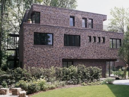 Expressiver Fassadenstil