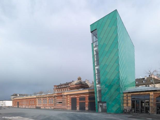 Kunststück im Rheinauhafen