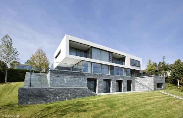 Stein, Glas und Beton