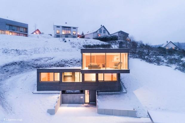 Ferienhaus mit Aussicht