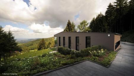 Ein Haus wird eins mit der Natur