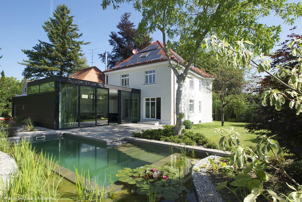 Schwimmteich oder living pool artikel berlin magazin - Altbau umbau ideen ...