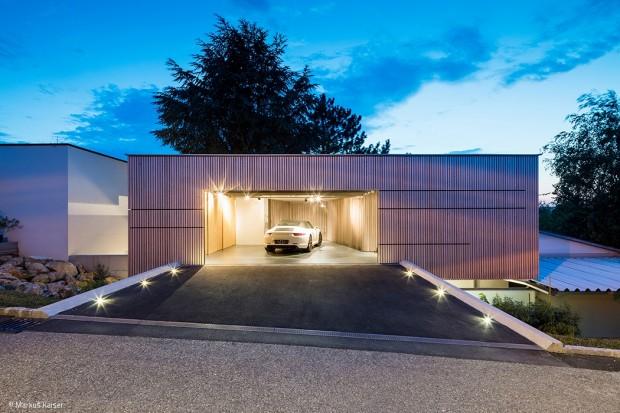 Eine etwas andere Garage
