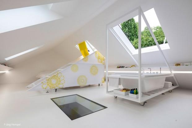 Mikrourlaub auf dem Dach
