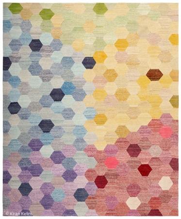 Farben und Formen über sechs Ecken