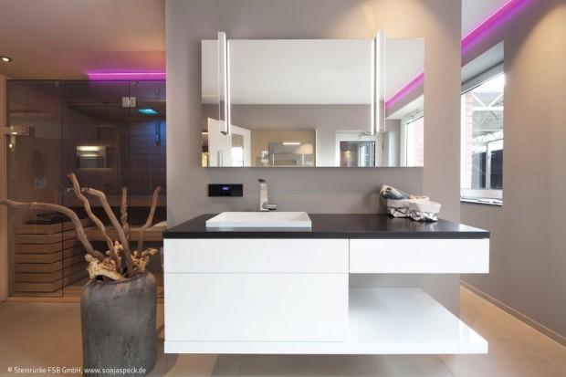 Feine Architektur fürs Bad