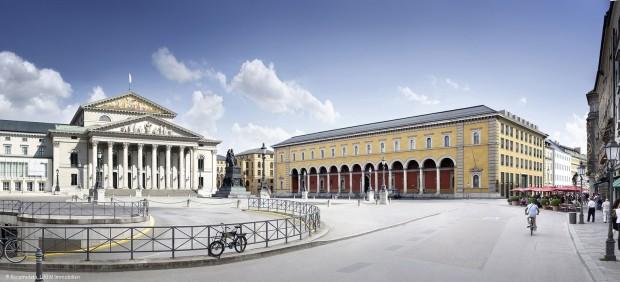 Das Palais an der Oper